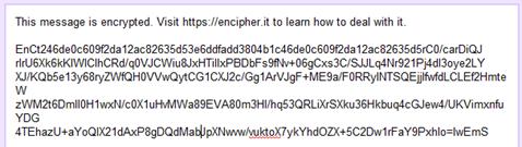 image thumb185 Encrypt Gmail, Facebook dan Text pesan